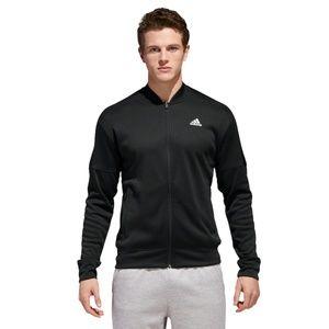 Adidas Team Issue Performance Full Zip Bomber